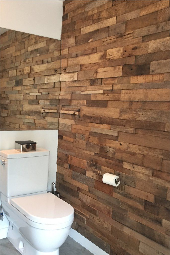 Photos Of Reclaimed Barn Wood Stacked Wall Panels
