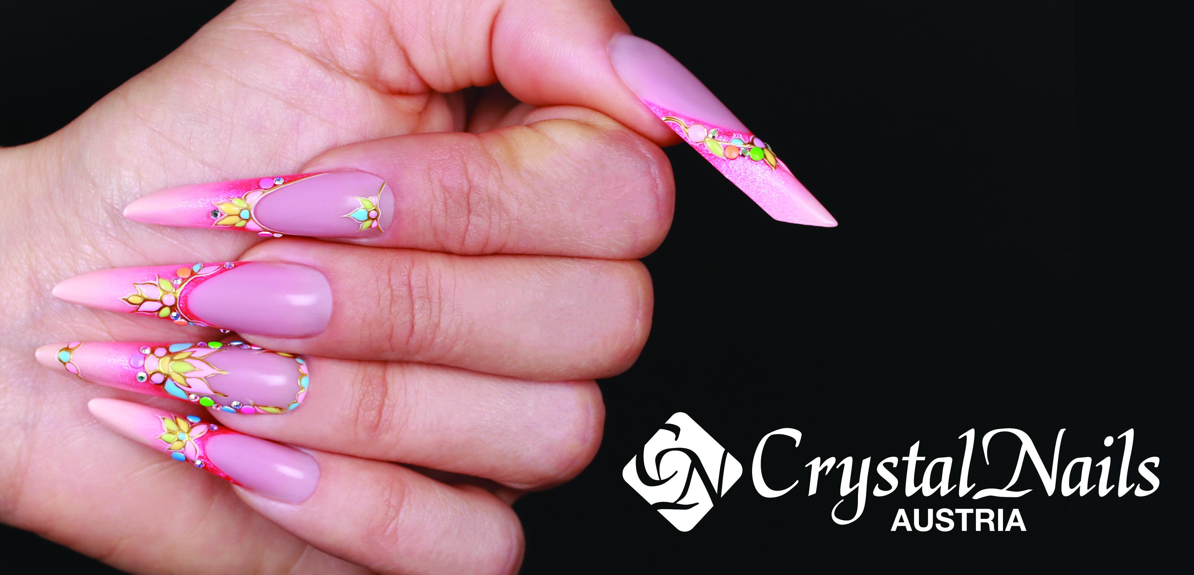 Amüsant Nägel Muster Das Beste Von #crystalnails #nägel #nagelstudio #nailart #muster #gelnägel #babyboomer