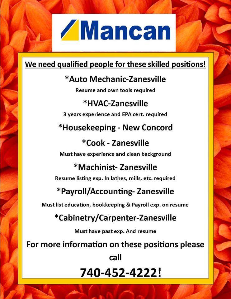 Pin by Mancan Inc Staffing on Mancan Jobs! Payroll