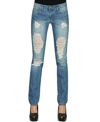DIY: How to make your own Ripped Jeans. This one too. How to Rip ...