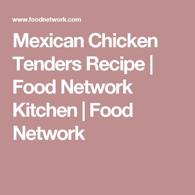 Mexican chicken tenders recipe chicken tender recipes mexican chicken tenders forumfinder Images