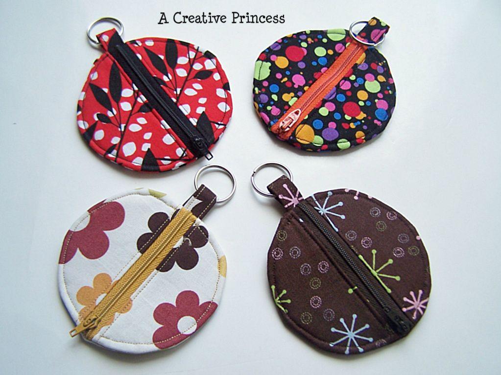 A Creative Princess: Zippered Heart Coin Purse
