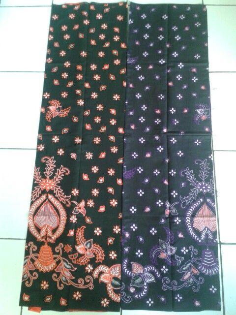 Kain batik motif piala 2 warna orange dan biru (Rp. 145.000 d61f8b3ebb
