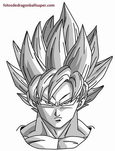 Super Imagenes Para Imprimir De Dragon Ball Z Y Para Pintar Goku