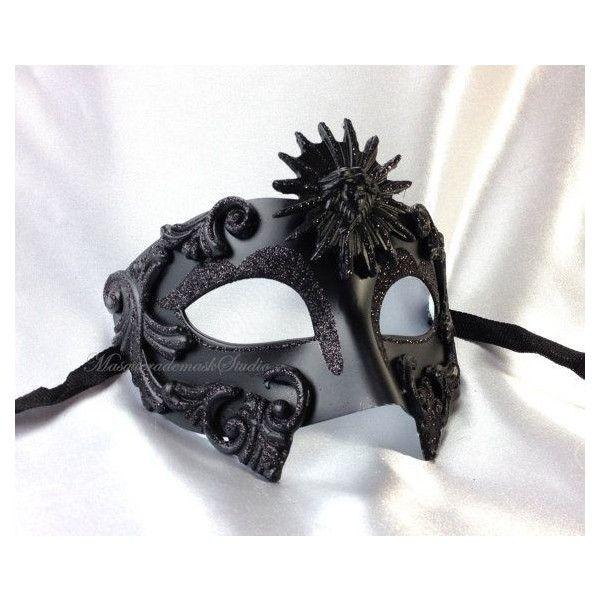 San Remo Gold Men/'s Masquerade Mask S-2547G-E