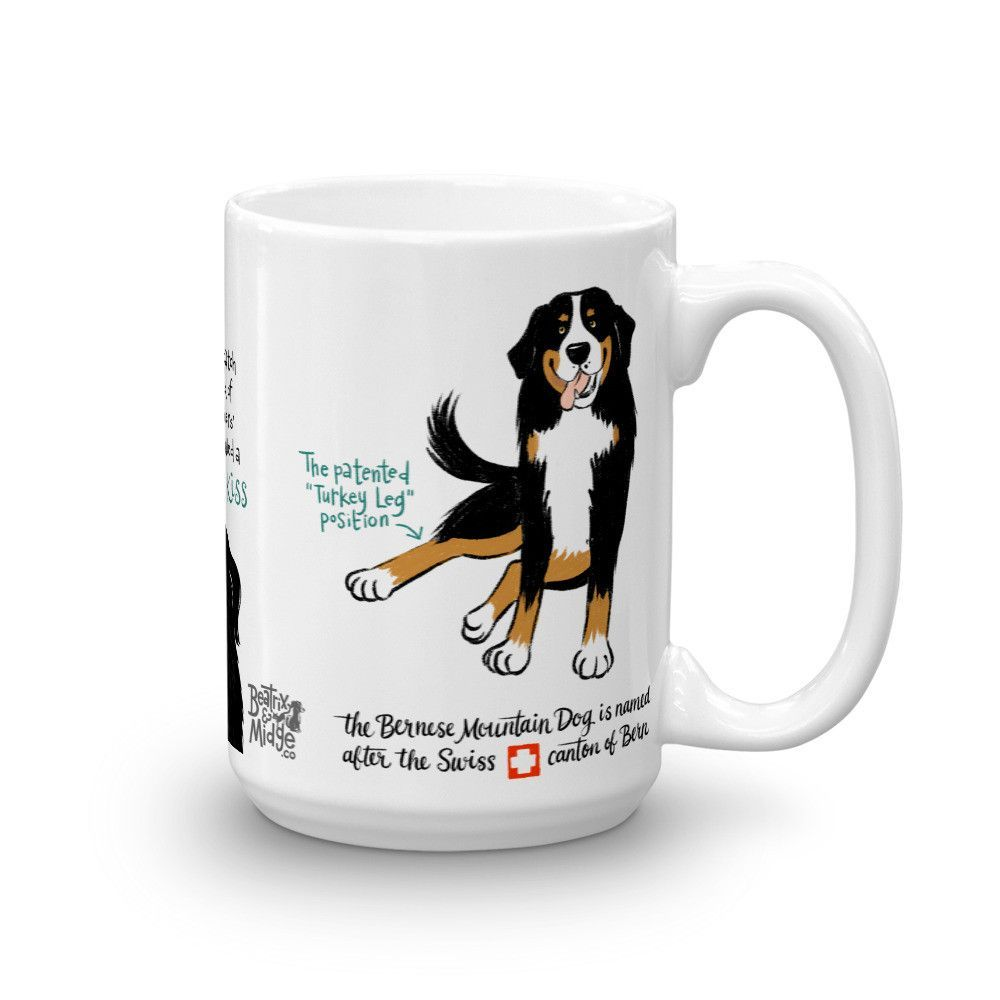 Bernese Mountain Dog Mug Bernesemountaindog