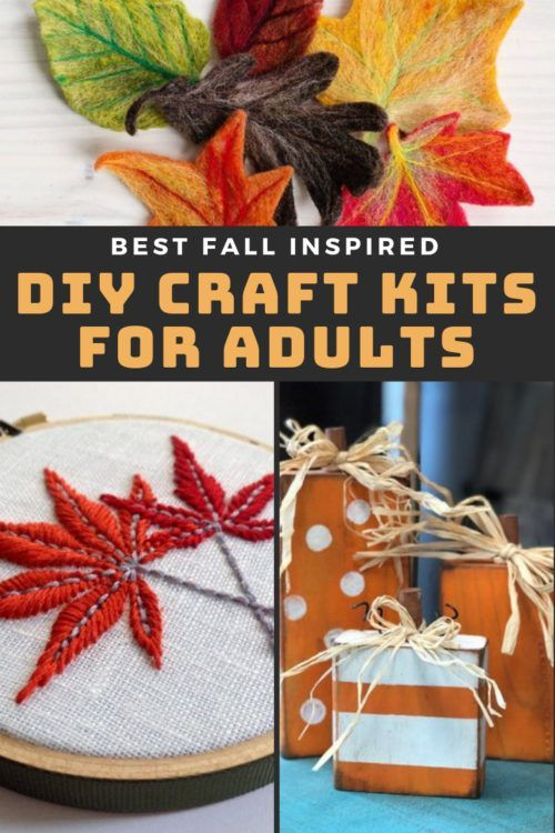 Do It Yourself Home Design: Best DIY Craft Kits For Adults To Try This Fall