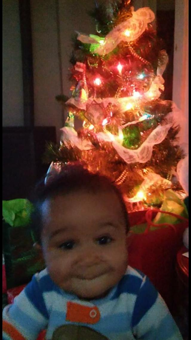 Julian. My Little Nephew in Christ. So Cute! 🤗🙏🎄🎁