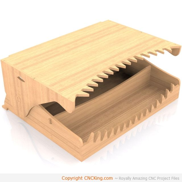 Croc Head Organizer: New CNC Table Router Project Launch