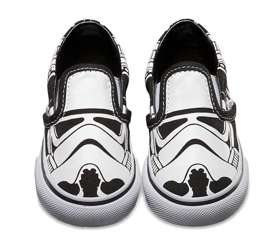 9b2cf0b2b0df08 Our favorite from  Vans  StarWars series... love the high contrast   Stormtroopers