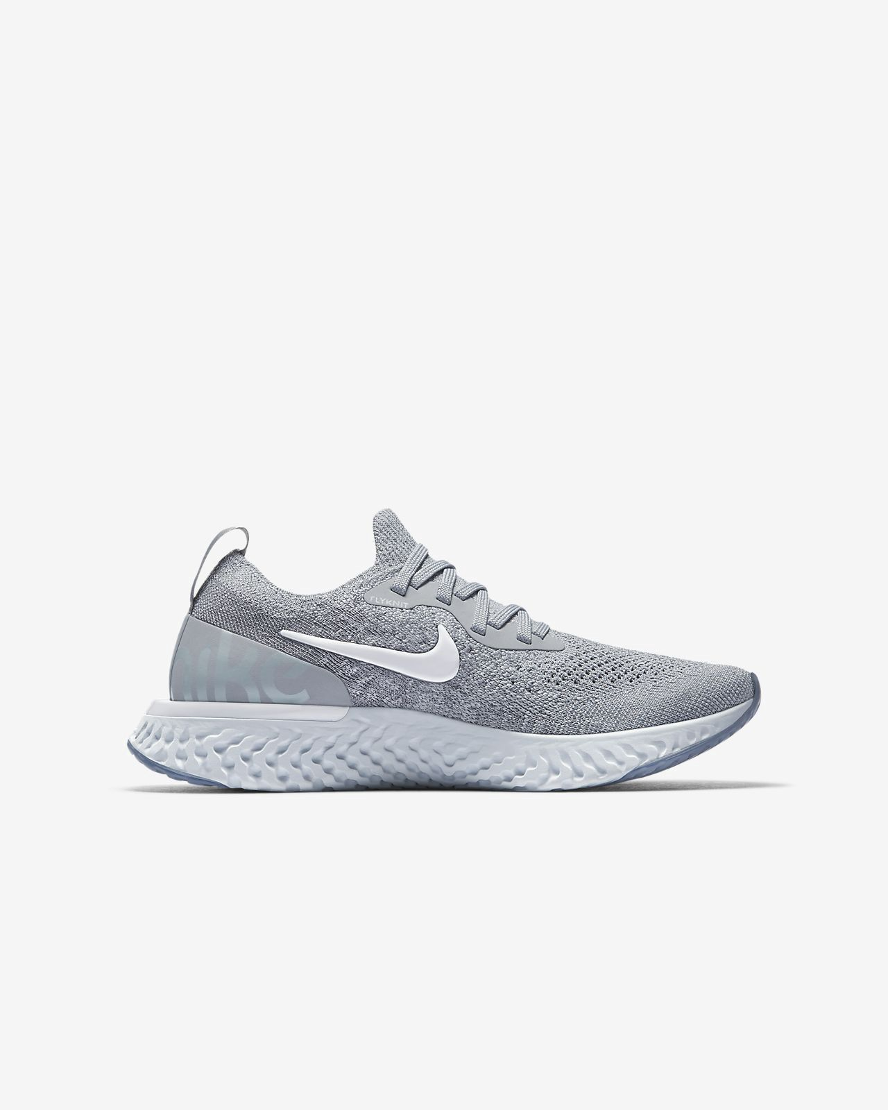 3a8df9b928 Nike Epic React Flyknit Big Kids' Running Shoe - 3.5Y   Products ...