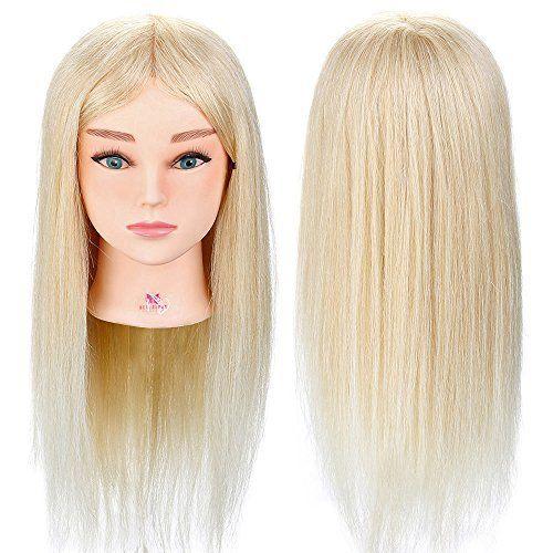 Ubungskopf Luckyfine 22 30 Friseur Ubungskopfe Frisierkopf Mit Langen Haaren Braun Synthetische Haare Puppenkopf F Frisierkopf Frisieren Ubungskopfe