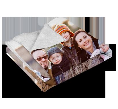 Sherpa Blanket Blanket Gift Photo Blanket Customized Blankets