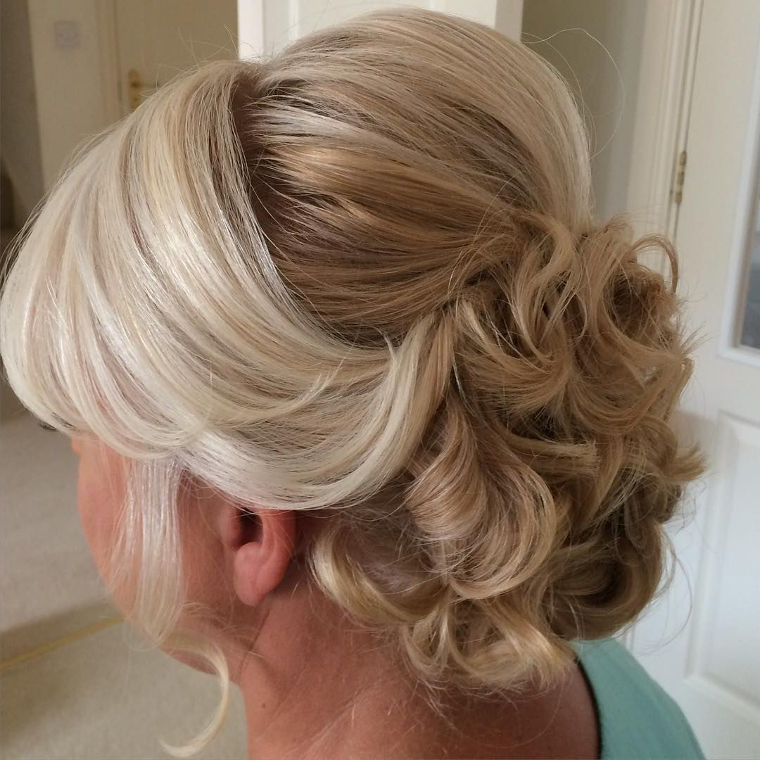 Image Result For Over 50 Updo Hairstyles Mother Of The Groom Mother Of The Bride Hair Mother Of The Groom Hairstyles Updos For Medium Length Hair