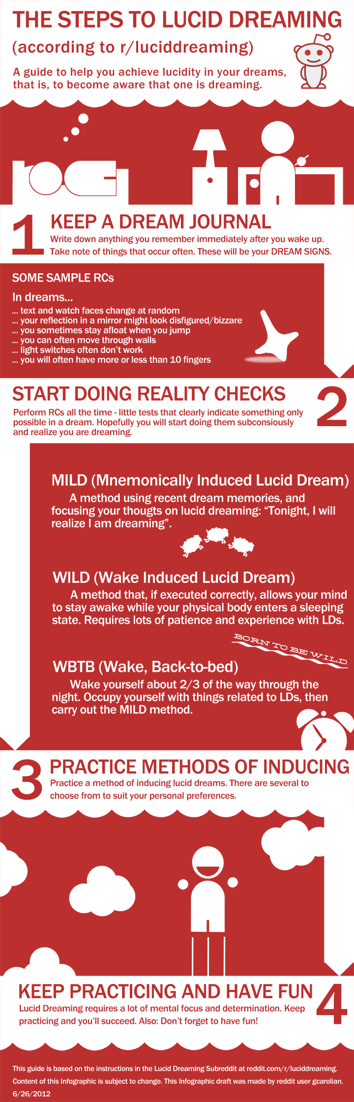 how to make lucid dreams