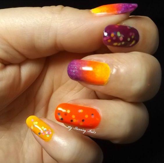 Nail art, lion king, sunset | Nails, Nail art, Art