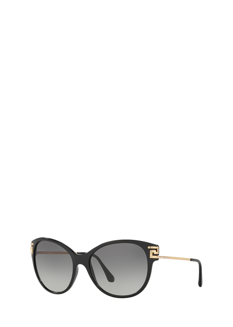 084355f20ab29 Versace Greca Rock Icons Black Sunglasses for Women