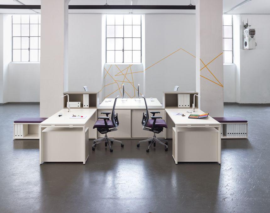 Oficinas modernas y de dise o espacio betty muebles de for Muebles oficina diseno