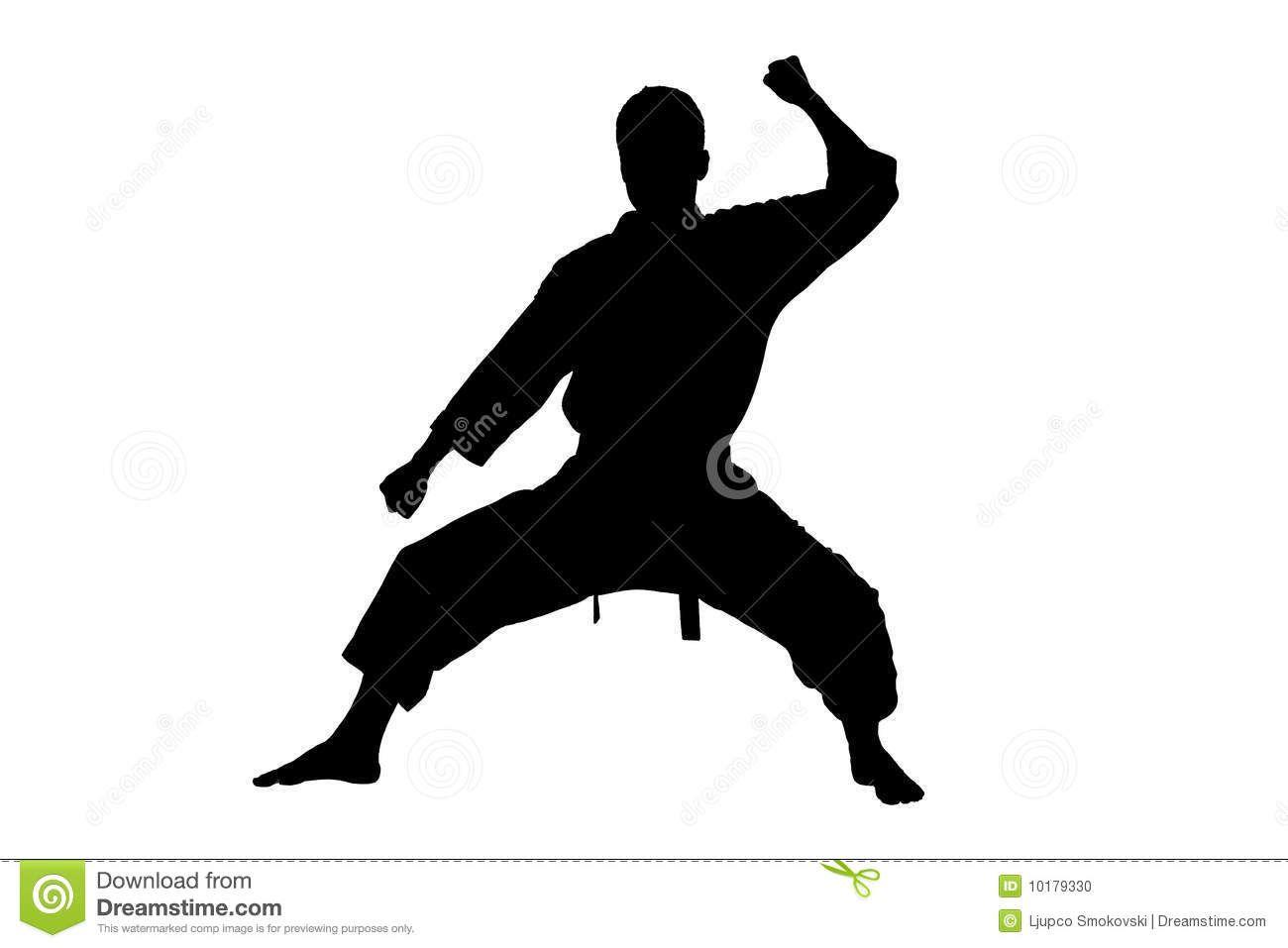 Karate Silhouette Clipart Clipart Suggest Karate Silhouette Clip Art