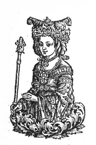 Vanda from: Maciej z Miechowa,  Chronica Polonorum Craccovi[a]e : Vietor, 1521