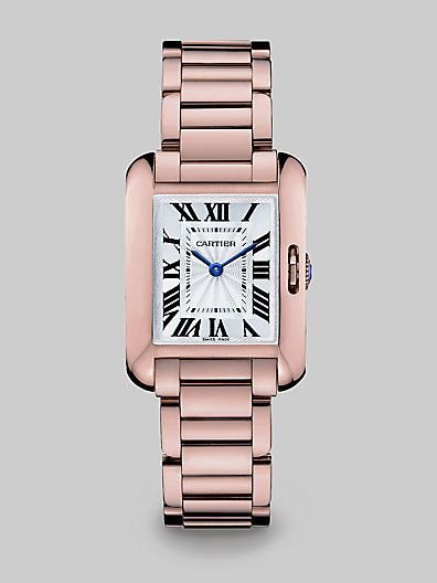 21b35f28d2a Cartier Tank Anglaise 18K Pink Gold Watch at London Jewelers ...