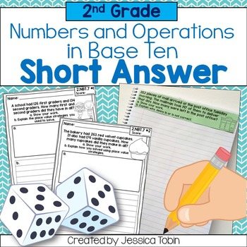 2nd Grade Math Word Problem- Numbers and Operations in Base Ten NBT ...