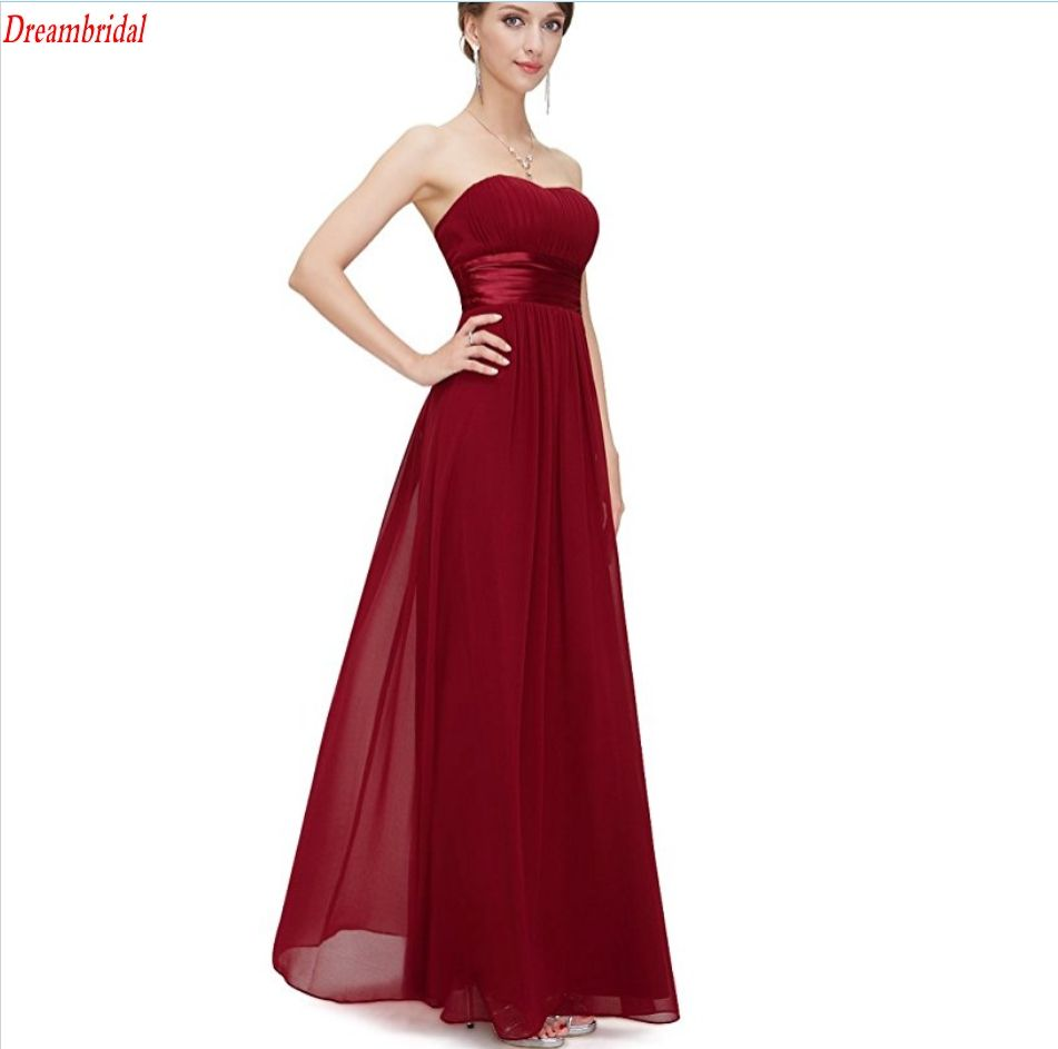 Click to buy ucuc dreambridal hot sale low price long bridesmaid dress