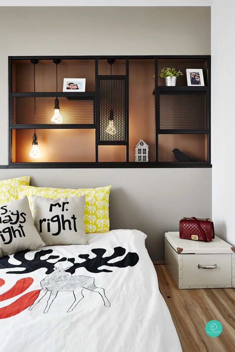 4 room hdb master bedroom design  master bedroom  HDBBedroom  Pinterest  Master bedrooms Terrace