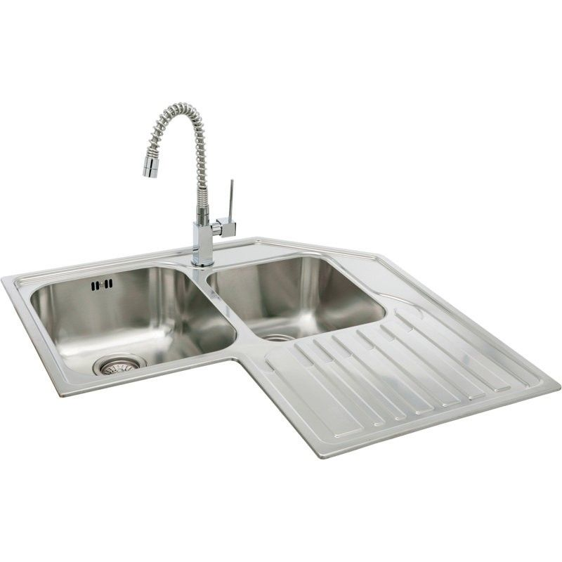 Corner Kitchen Sinks Google Search Corner Sink Kitchen Corner Sink Kitchen Sink Design