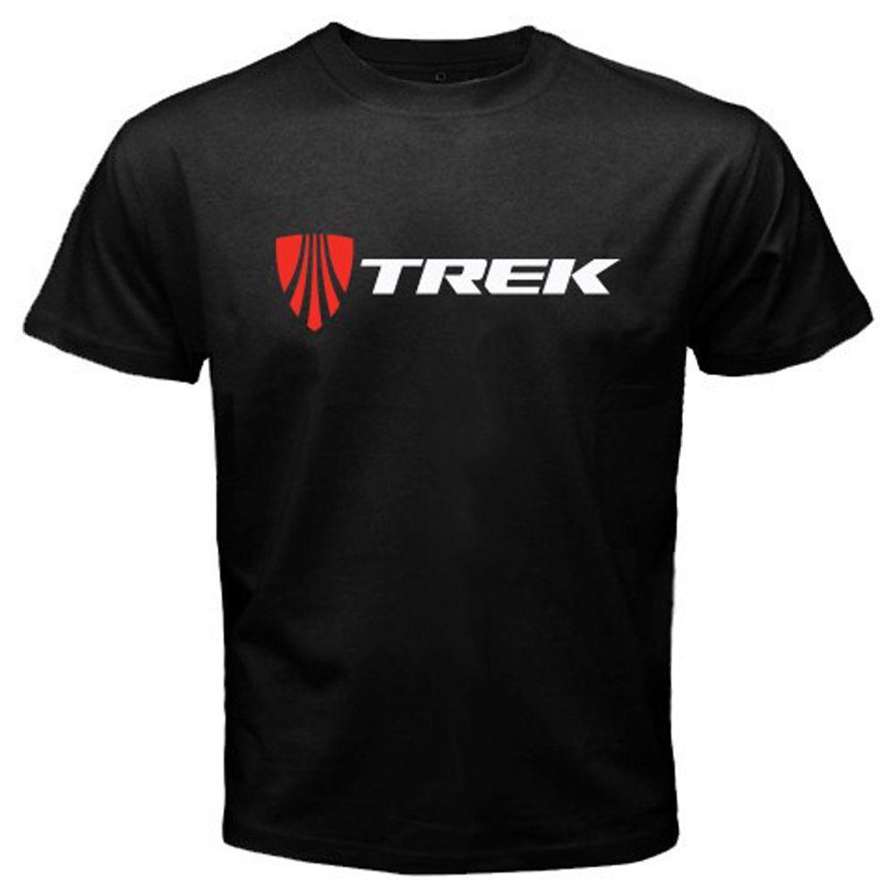 New TREK BICYCLE Bike Logo Men/'s Black T-Shirt Size S to 3XL