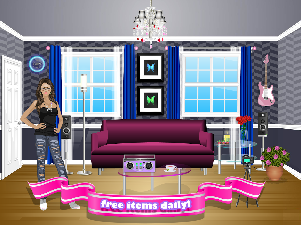 dress up games and decorating house games - Decorating House Games