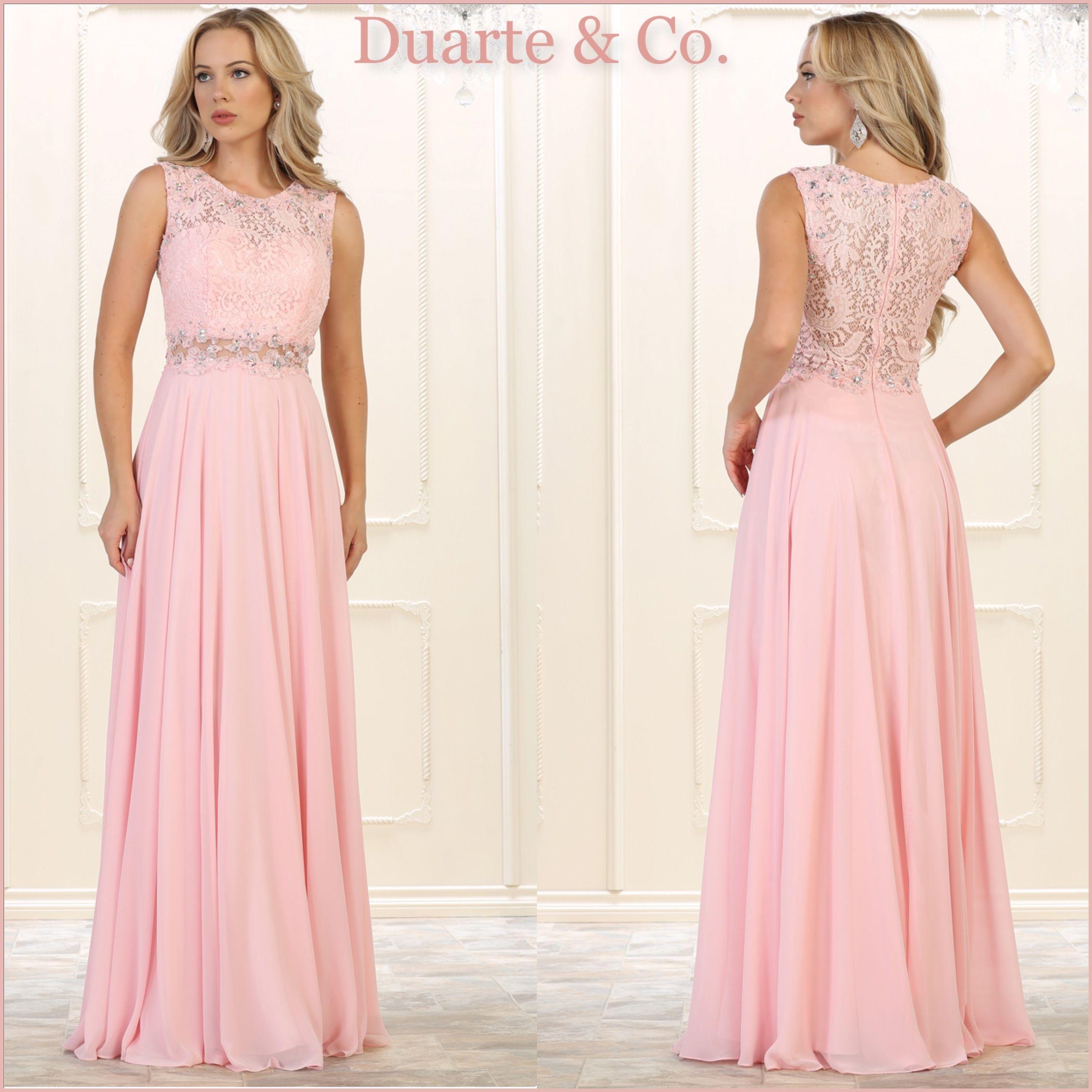 Long Chiffon Party Dress W/Plus Sizes - MQ1520   Prom party dresses ...