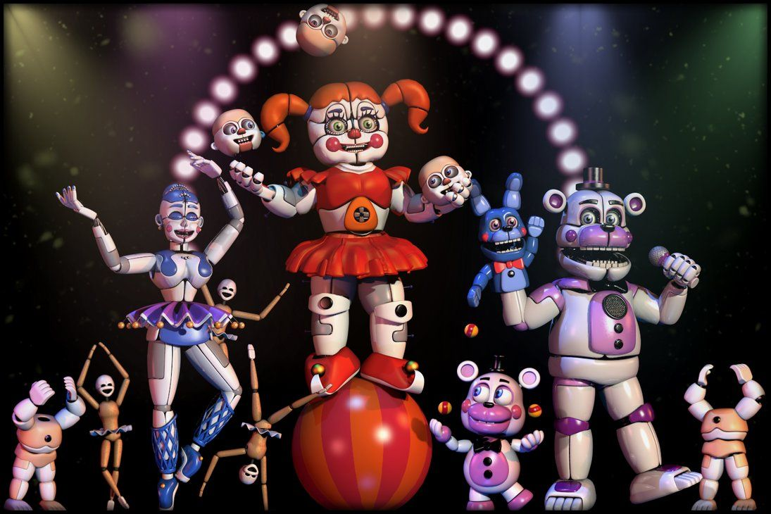 UCN Collection - Welcome to the Circus! by GamesProduction   Scary ...