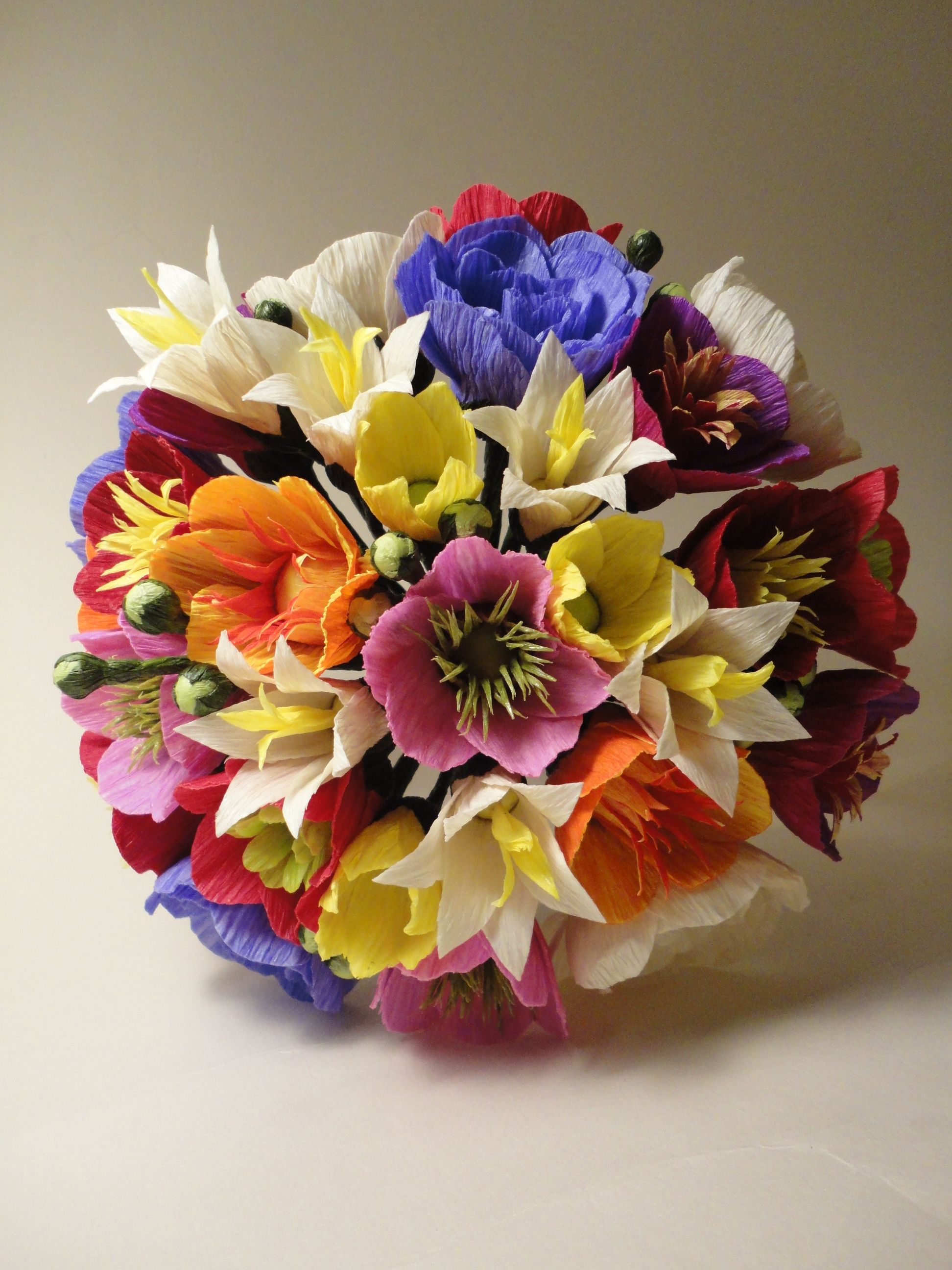 Flores De Papel Na La Lis Blanc Carmen Rein Flores Pinterest