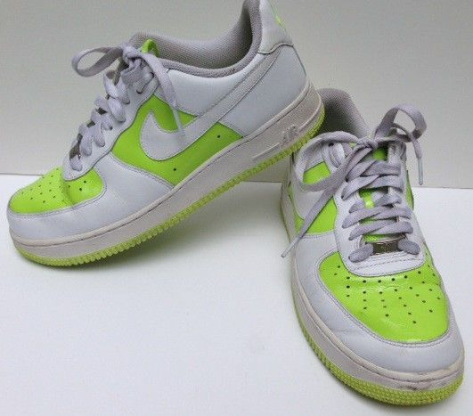 nike air force 1 82 shoes lime green