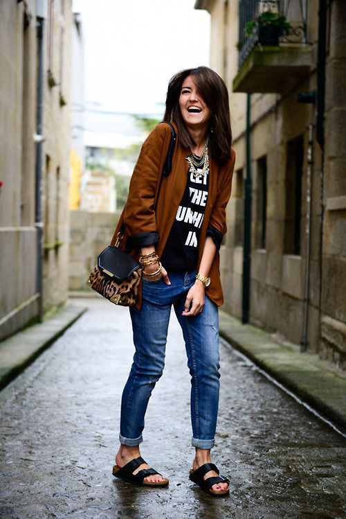 20 Style Tips On How To Wear Birkenstocks For Fall Gurl