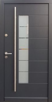 Modern Exterior Door Contemporary Front Entry Doors Residential Entrance With Sidelight Metal