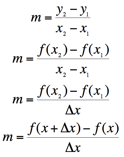 Variety of math equations