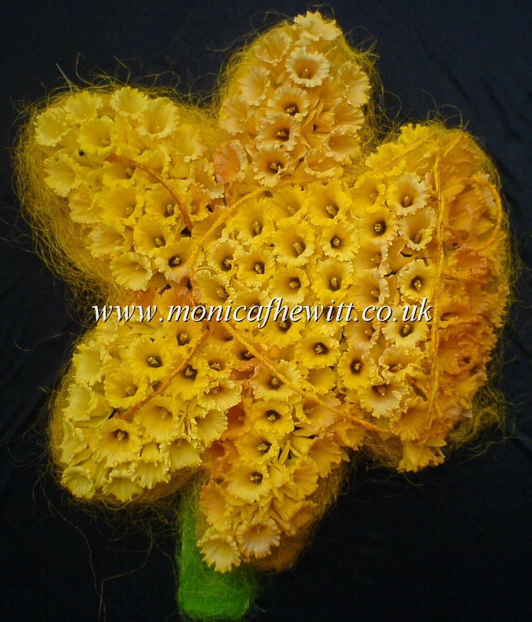 Daffodil Funeral Flowers Monica F Hewitt Florist Sheffield