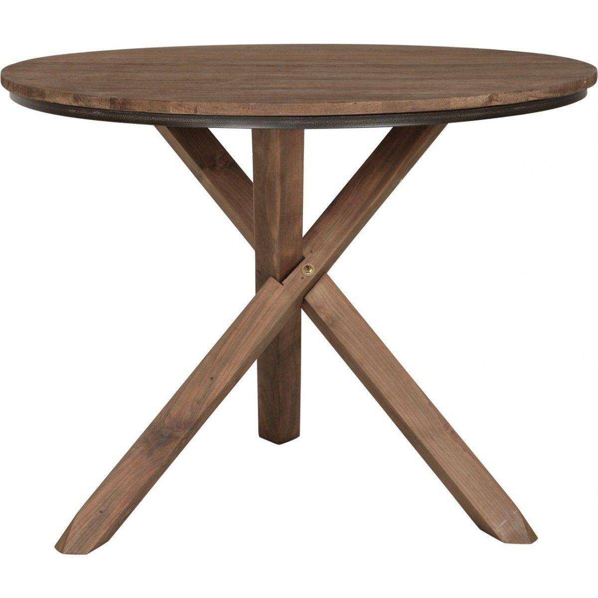 Runder Tisch Holz Massiv Esstisch Rund Tisch Im Landhausstil Durchmesser 100 Cm Esstisch Rund Ausziehbar Tische Holz Holztisch Ausziehbar