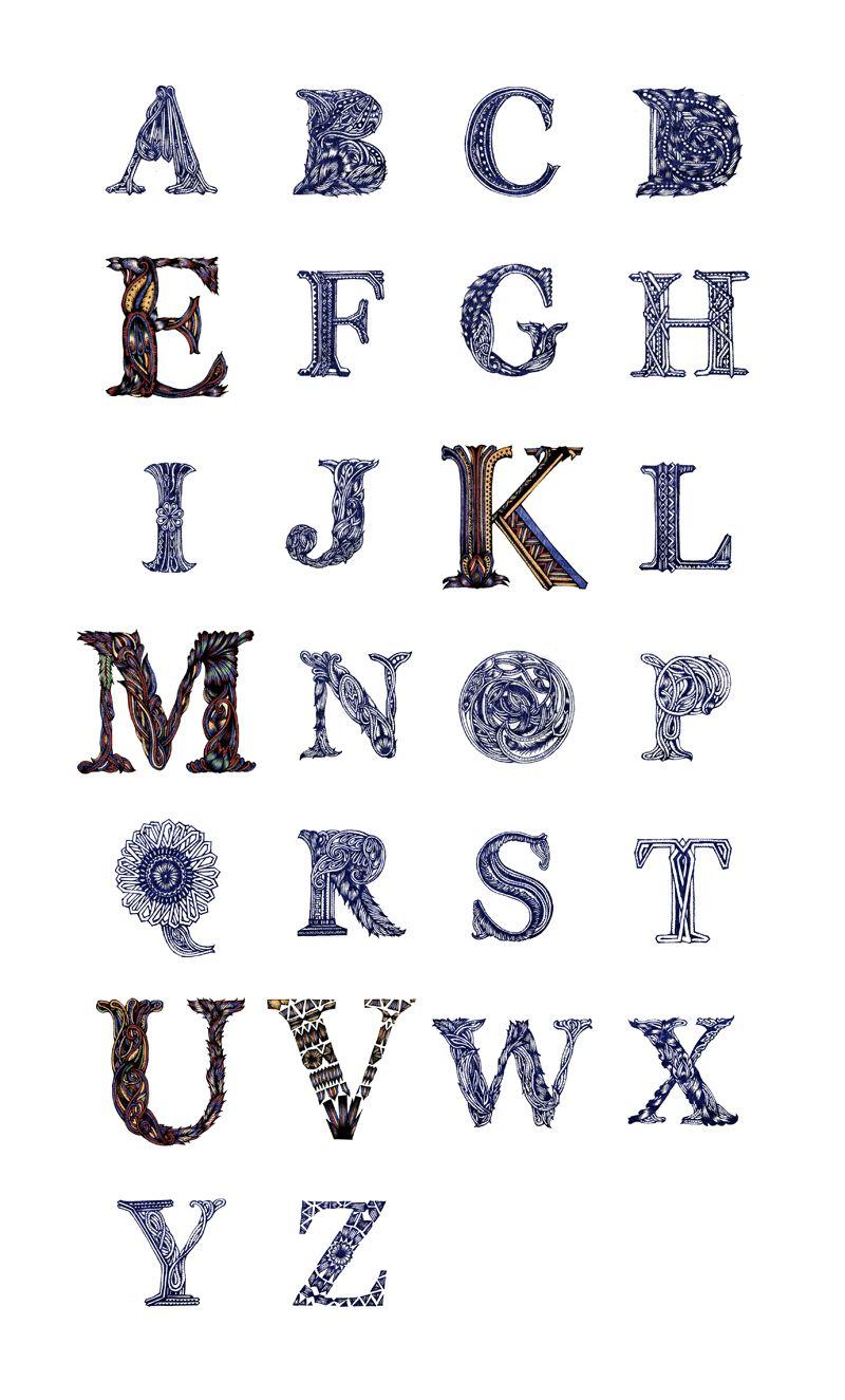 A to Z of Iran Yuko Michishita   Beautiful typography ...