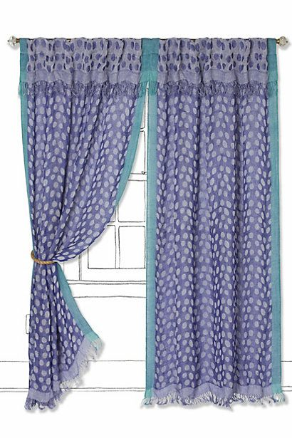 Summer Spotted Curtain Curtains Home Curtains Home Decor