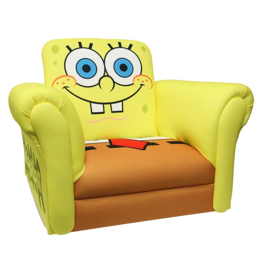 Spongebob Bedroom Furniture Spongebob Rocking Chair With The Spongebob Recliner As A Close