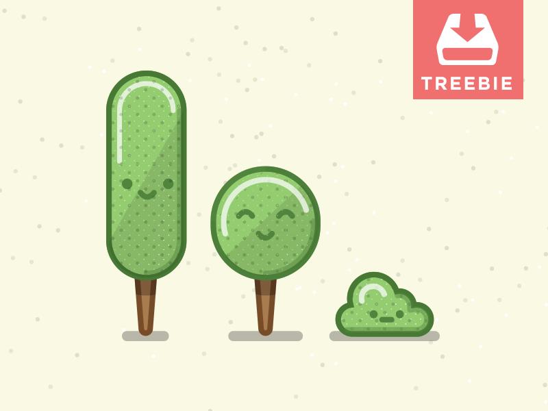 Tree Freebie Treebie Packs Et Kits D Icons Icone