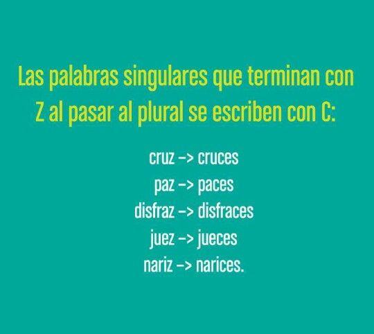 Pin En Ortografia Idioma Español