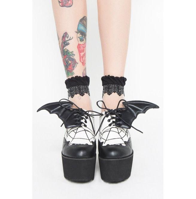 9ae5c7b9f0b Rebelsmarket iron fist shoes daytime sleeper super creeper platforms ...