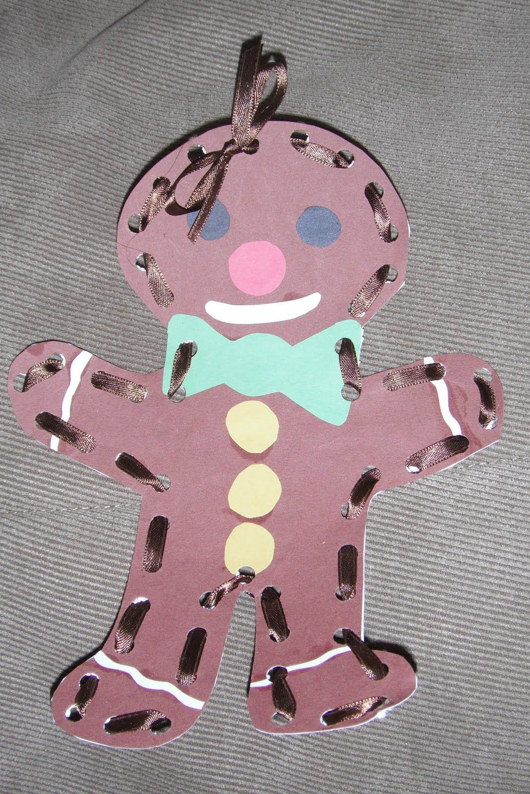 Play With Me Gingerbread Lacing
