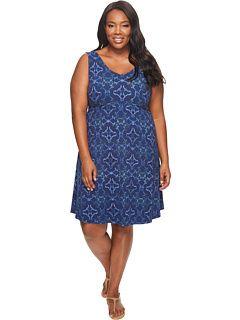eaeecd33240 Extra Fresh by Fresh Produce - Plus Size Tile Play Olivia Dress ...