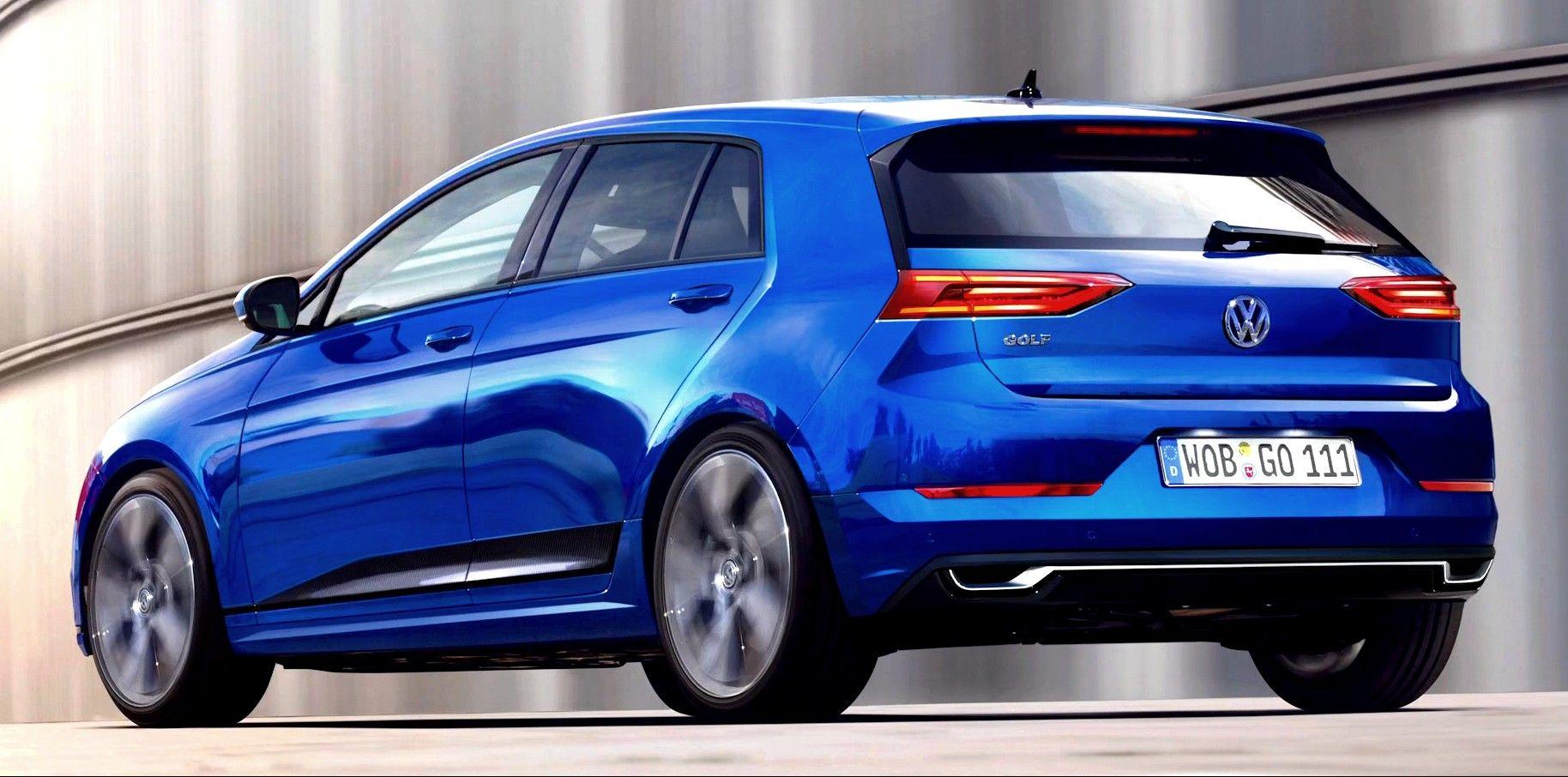 2018 Volkswagen Golf 8 New Pictures Revealed Motos
