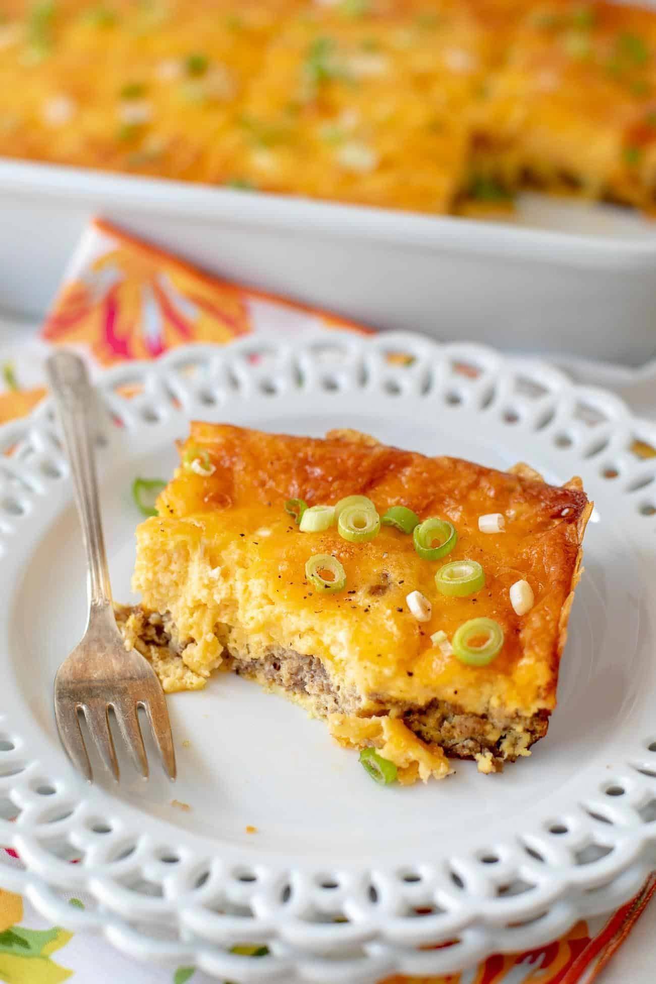 Keto breakfast casserole recipe low carb egg casserole